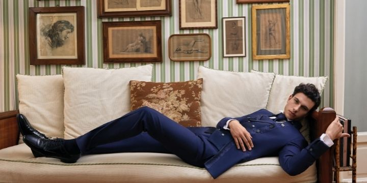 Thomas Pina New Romantic: versatile and elegant collection for the groom