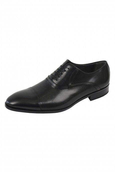 Black TP shoes  in leather.
