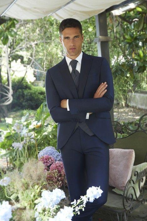 Traje de novio Couture azul 21.22.320