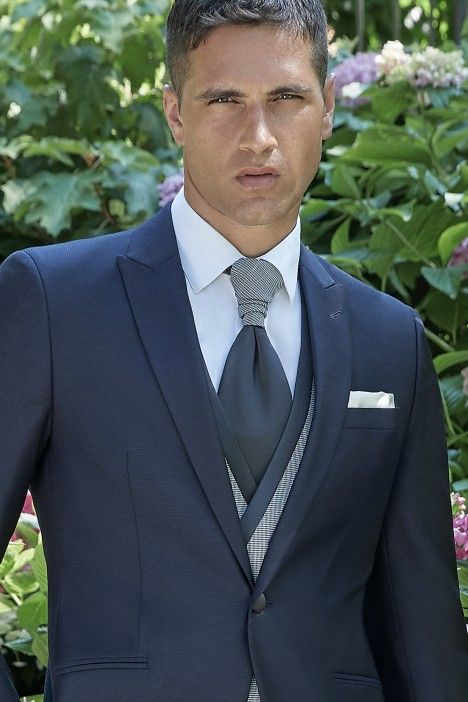 Blue groom suit Couture 21.38.300