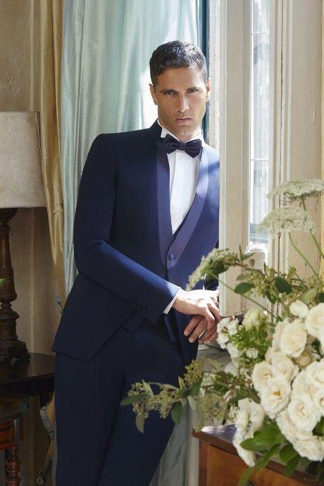Hochzeitsanzug Couture Blau 21.42.310