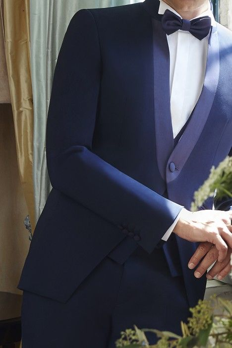 Blue groom suit Couture 21.42.310