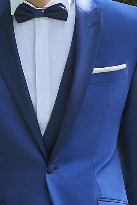 Blue groom suit Couture 21.35.34A