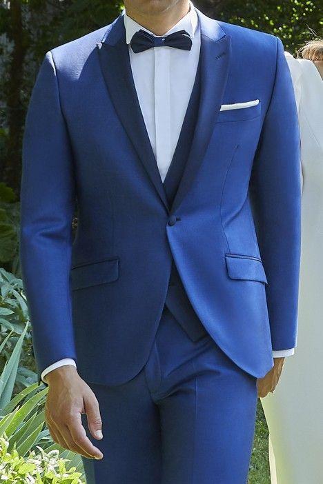 Abito sposo Couture blu 21.35.34A
