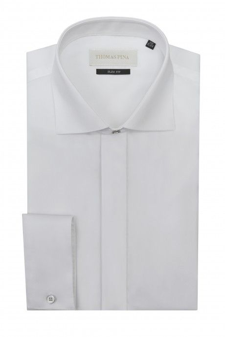 White groom shirt plain VARANTA
