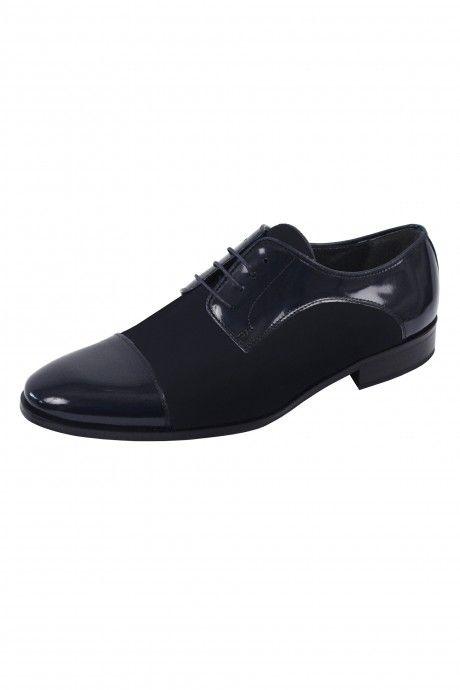 Blue groom shoe VISTRATI